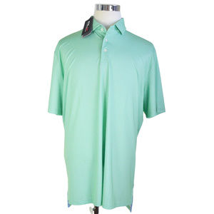NEW RLX GOLF Ralph Lauren Mens Polo Shirt XL Green